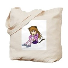 Chibi Cat Tote Bag