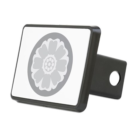 White Lotus Tile Hitch Cover