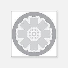 White Lotus Tile Sticker