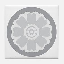 White Lotus Tile Tile Coaster