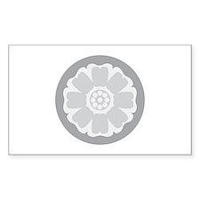 White Lotus Tile Decal