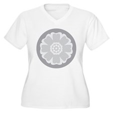 White Lotus Tile Plus Size T-Shirt