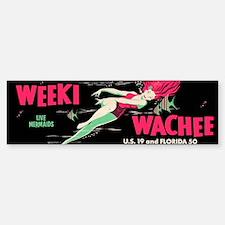 Weeki Wachee Vintage Replica Bumper Bumper Sticker