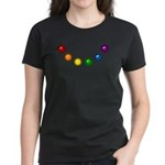 Rainbow Baubles Women's Dark T-Shirt