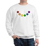 Rainbow Baubles Sweatshirt