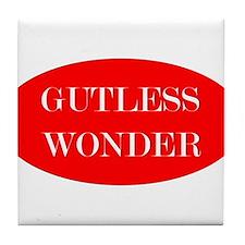 Gutless Wonder Tile Coaster
