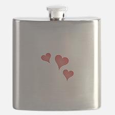 Somebody In Oregon Loves Me Flask