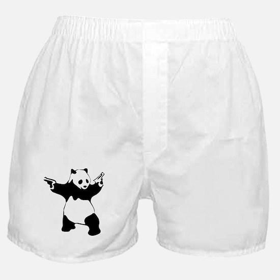 Panda guns Boxer Shorts