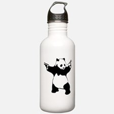 Panda guns Water Bottle