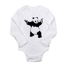Panda guns Body Suit