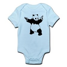 Panda guns Body Suit