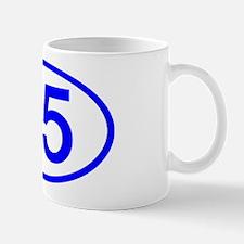 Number 35 Oval Mug