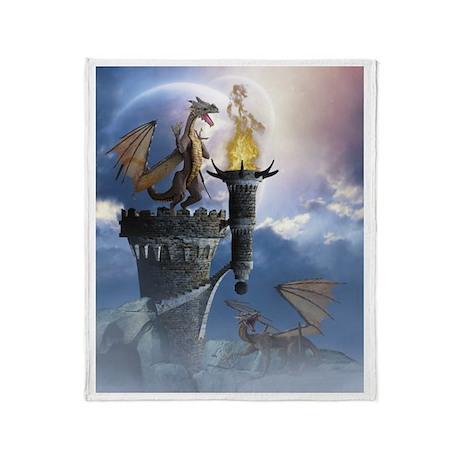 Dragon Land 2 Throw Blanket