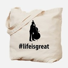 Double Bassist Tote Bag
