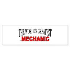 """The World's Greatest Mechani Bumper Bumper Sticker"