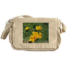 California state flower~ The poppies Messenger Bag