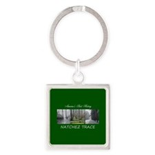 ABH Natchez Trace Square Keychain