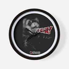 Unique Funny ferret Wall Clock