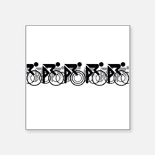 Peleton 2 White Sticker
