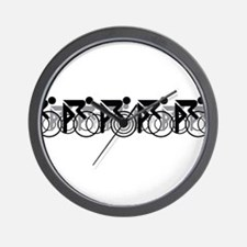 Peleton 2 White Wall Clock