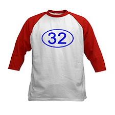 Number 32 Oval Tee