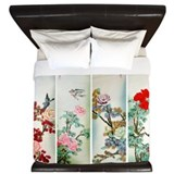 Chinese Luxe King Duvet Cover