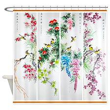 Best Seller Asian Shower Curtain