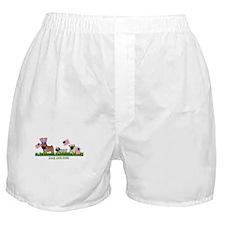 Pug Parade Boxer Shorts