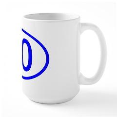 Number 30 Oval Mug