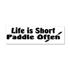 Cute Kayaking Car Magnet 10 x 3