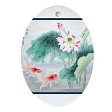 Best Seller Asian Ornament (Oval)