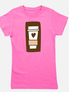latte.png Girl's Tee