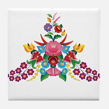 Kalocsai 2 Tile Coaster