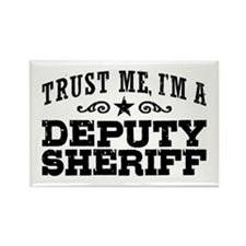 Deputy Sheriff Rectangle Magnet