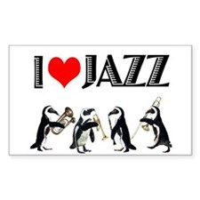 Jazz Rectangle Decal