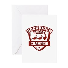 Duck Duck Goose Champion Greeting Cards (Pk of 10)