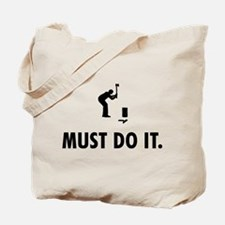Woodcutter Tote Bag