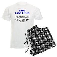 Dad's Tool Rules Pajamas