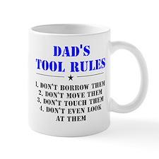 Dad's Tool Rules Small Mug