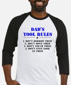 Dad's Tool Rules Baseball Jersey