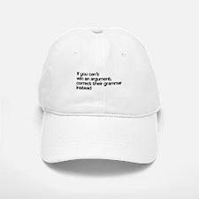 Correct Their Grammar Baseball Baseball Cap