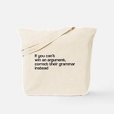 Correct Their Grammar Tote Bag