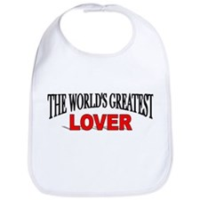 """The World's Greatest Lover"" Bib"