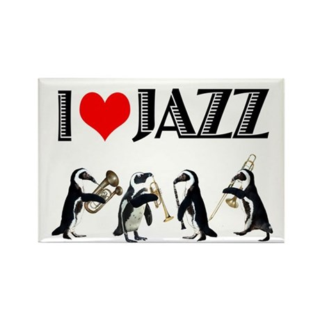 Jazz Rectangle Magnet (10 pack)