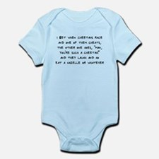 Cheetahs are Cheaters Infant Bodysuit
