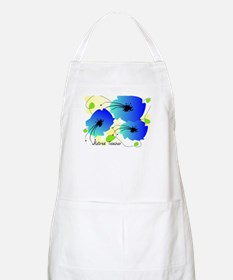 Retired Teacher Floral Apron