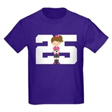 Soccer Sports Number 25 T