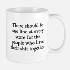 One line at the store Mug