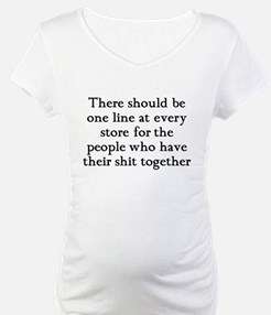 One line at the store Shirt