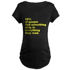 69% find dirty T-Shirt